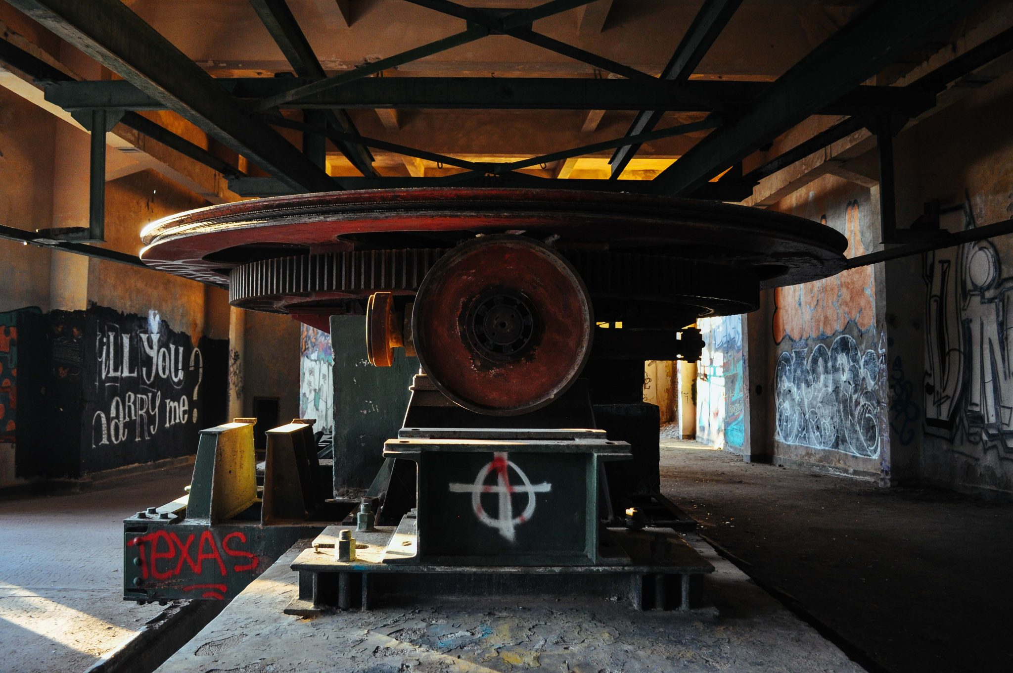 Abandoned lift in Vitosha mountain