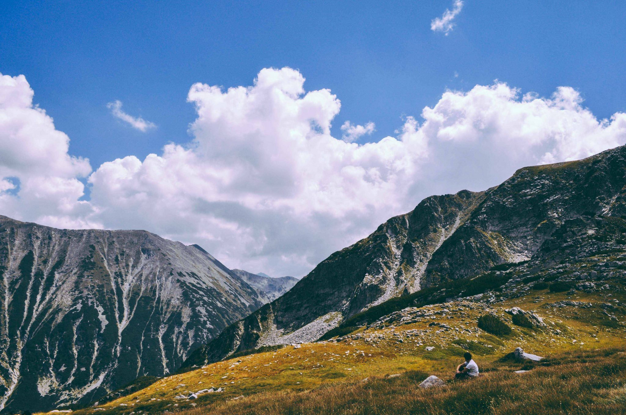 Bulgaria mountain scenic landscape