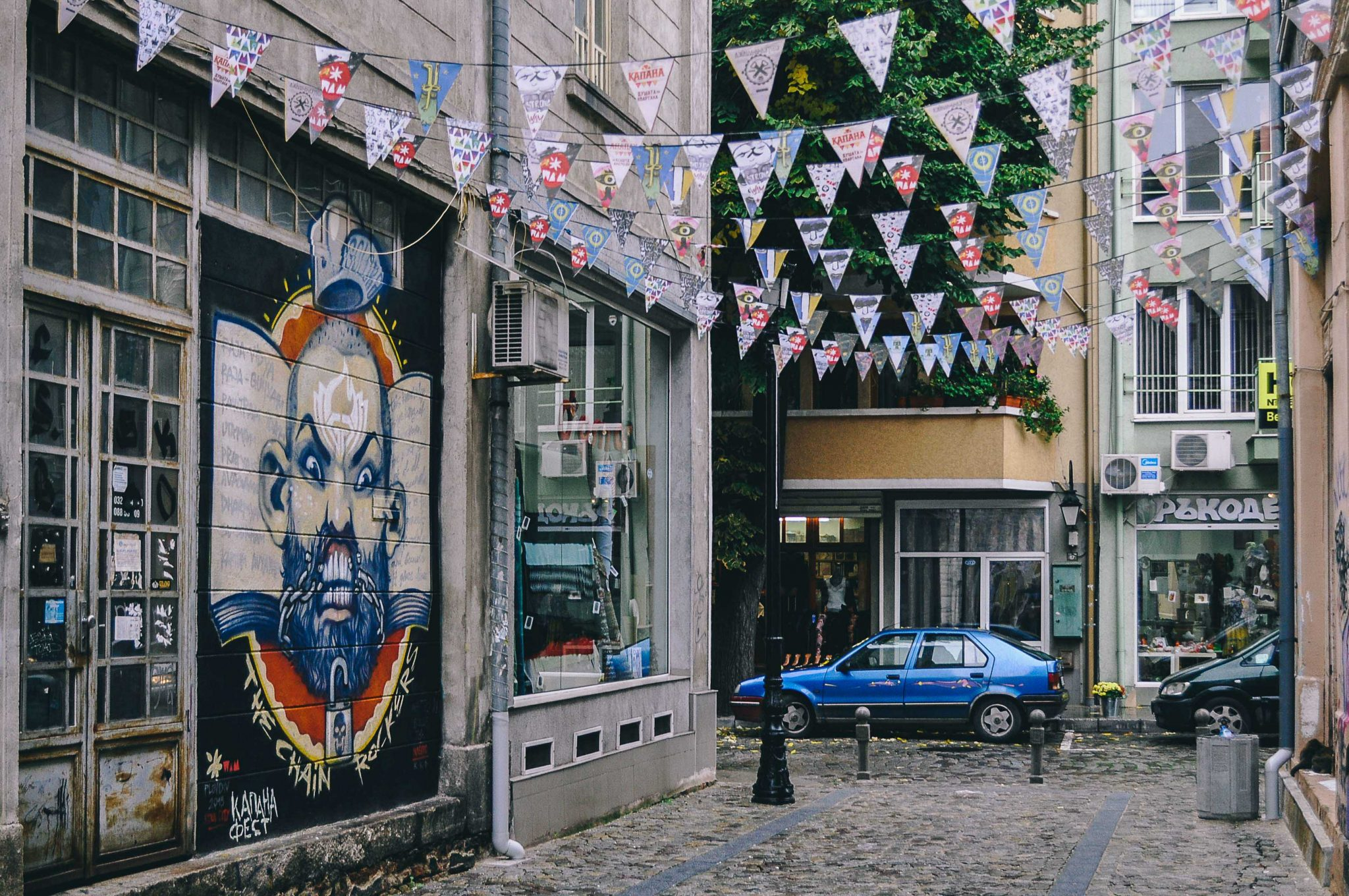 Discover Plovdiv street art and urban culture