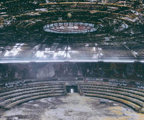 House of the bulgarian communist party building Buzdludzha
