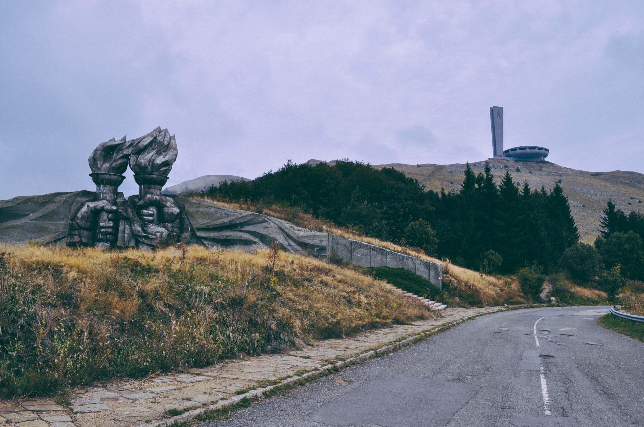 Interesting communist monument near Kazanlak