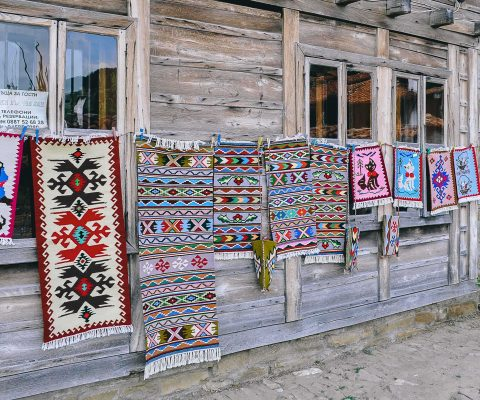 Old textile craft in the village