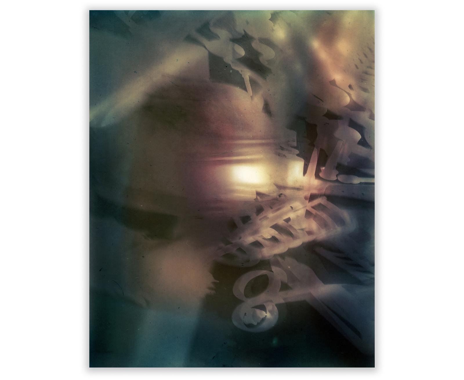 """Various Artefactsscanned lumen print 51 x 63.5 cm  (20"""" x 25"""")"""